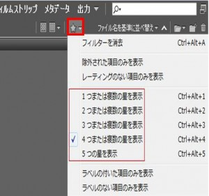Adobe Bridge その4